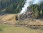 Waldbrand in Vellach - Bilder der Polizei: 16.03.2007